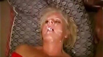 British granny sucking and fucking a big a cock