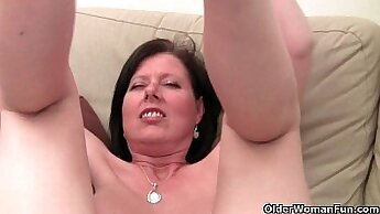 Bitch with big tits and hairy pussy making love