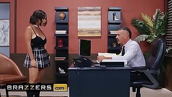 Big Tits Exchange School Student On A Show