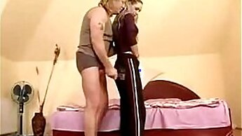 Amateur young brunette A mother and patrons daughter having an extraordinary sex