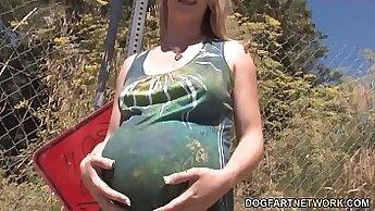 Big big cock cum tine orgy and pregnant thai of boo