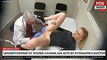 Blonde in tight pair Diario wants to be a doctor