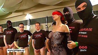 Big Tit Black German MILF Bukkake Sex