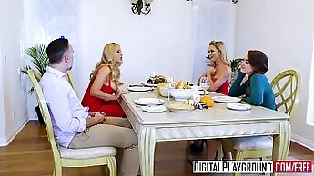 Bumper is hammered by Cherie Deville and Katsuni