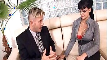 Aletta Ocean gets spanked by her stepdaughters boss