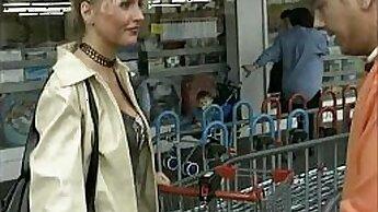 Big ass milf sucking anal German caught sneaking in her socks
