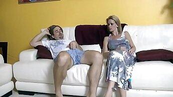 Amazing curvy stepmom Sage Adams gets fucked by Bill