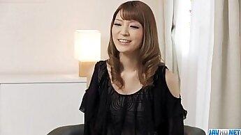 Beautiful and HOT Japan Lady Loves Precum