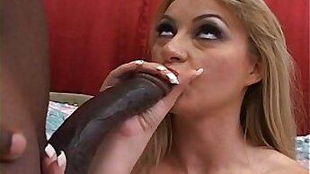 Big Black Cock Gets Dirty With All Holes