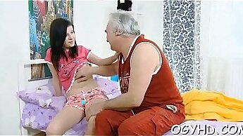 cock crazed domina is introduced to a young stud