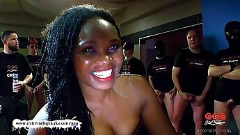 Angelic ebony Angel plays with her long toes