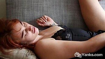 Big tits massage and masturbation