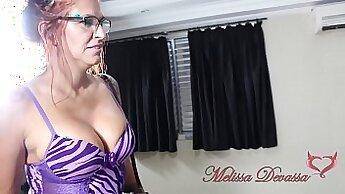 Brazillian Slut Giving Happy Birthday