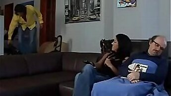 Barbara Sucks and Fucks with new friend