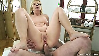 Anal Massage With Oil For Mature BWC