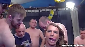 cum on his knobs then caught watching twinks jerking thick dick