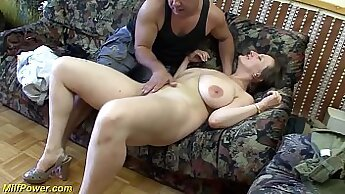 Big tit MILF getting her ass fucked by a big dick