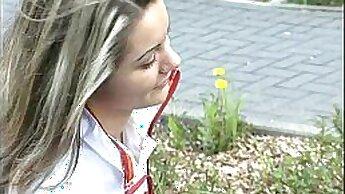 blonde german teen fucks a stranger anal